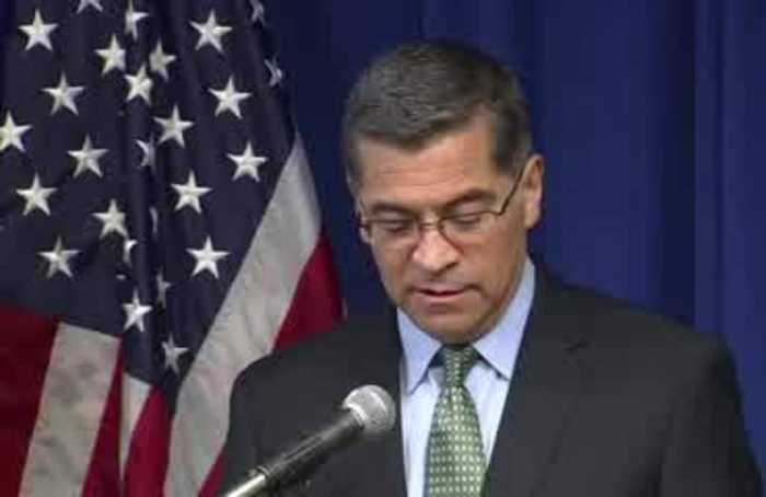 Can't afford to backslide on climate change: Becerra