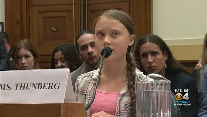 16-Year-Old Climate Activist Greta Thunberg Testifies Before Congress