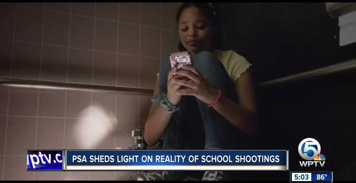 P.S.A. sheds light on reality of school shootings