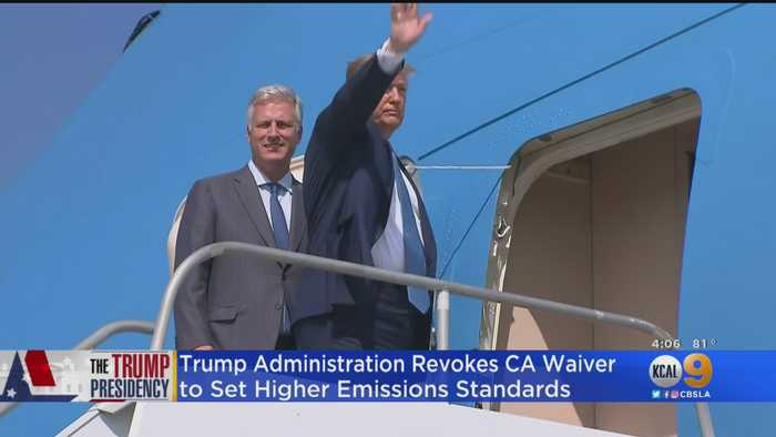 Trump Administration Revokes California Waiver To Set Higher Emissions Standards
