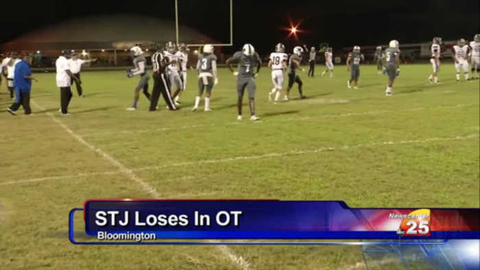 STJ Football's First Loss Of 2019 A Tough One