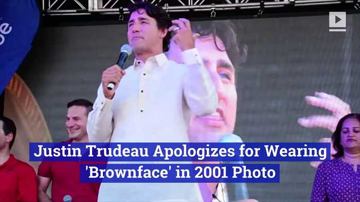 Justin Trudeau Apologizes for Wearing 'Brownface' in 2001 Photo