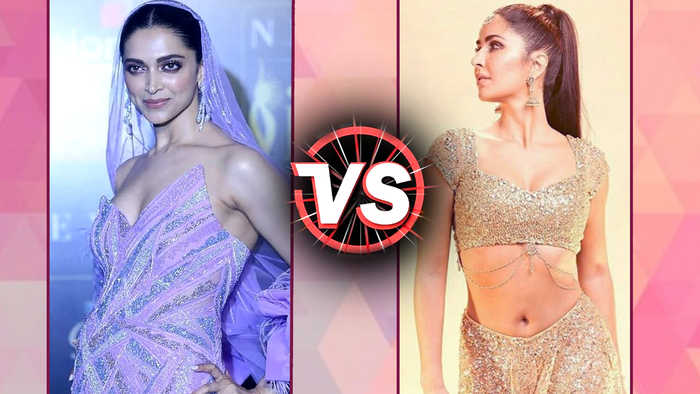 Katrina Kaif V/S Deepika Padukone | Fashion Face-Off | IIFA Awards 2019