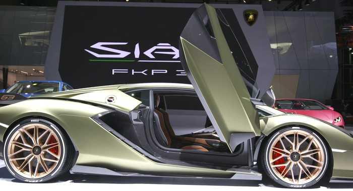Lamborghini Sián FKP 37 Interior Design