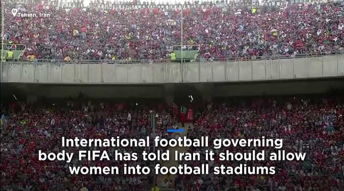 Watch: FIFA tells Iran women must be allowed into stadiums