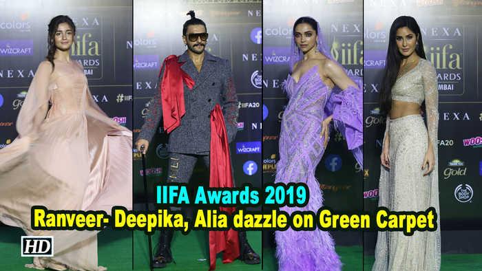 IIFA Awards 2019 | Ranveer- Deepika, Alia dazzle on Green Carpet
