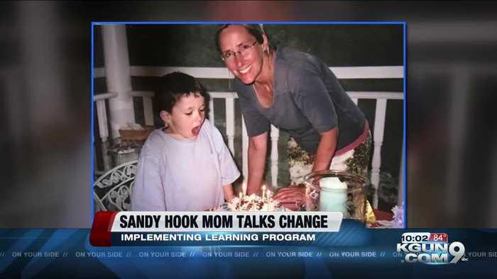Sandy Hook mom talks change in Nogales