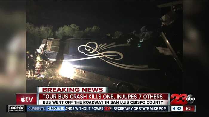 Josh Turner road crew bus crash kills one, injures 7