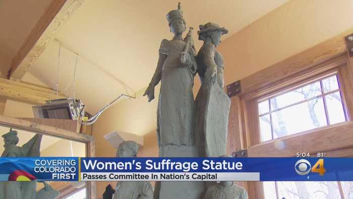 Jane DeDecker's Sculpture One Step Closer To Spot In Washington DC
