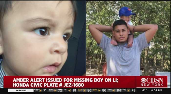 Amber Alert Issued For Long Island Baby