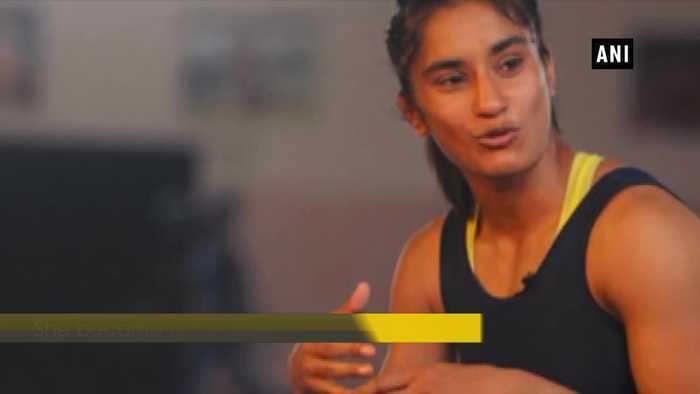 Wrestler Babita Phogat congratulates sister Vinesh for qualifying in Olympics