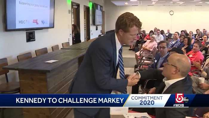 Kennedy to challenge Markey for Senate seat