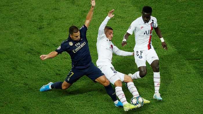 Paris Saint-Germain thrash Real Madrid in Champions League opener
