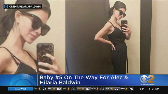 Alec, Hilaria Baldwin Expecting Baby No. 5
