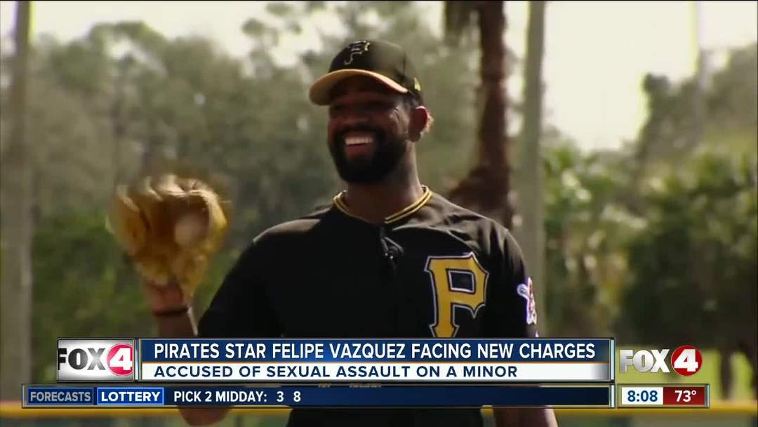 Felipe Vazquez faces new charges out of Pennsylvania