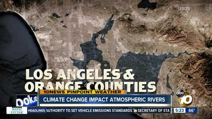 Climate Change: Atmospheric Rivers