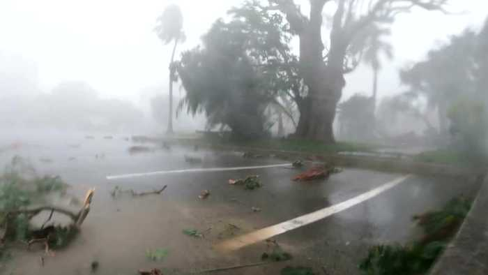 Hurricane Humberto Leaves Bermuda In The Dark