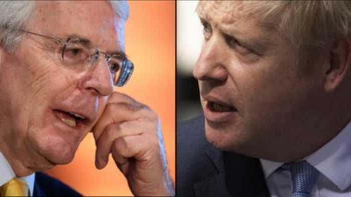 John Major: Boris Johnson's reasons for suspension 'cannot be true'