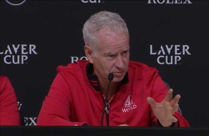McEnroe predicts Nadal and Federer retirements after Team World