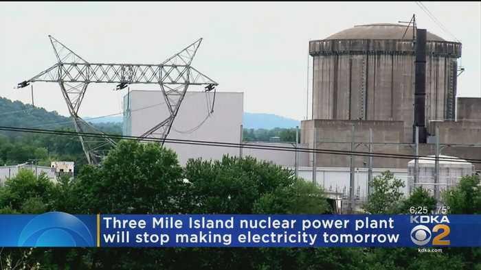 Three Mile Island Nuclear Power Plant Shutdown