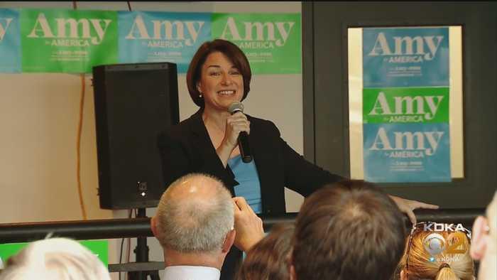 Senator Amy Klobuchar Visits Pittsburgh