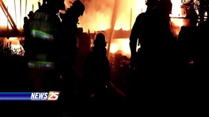 House fire in West Harrison