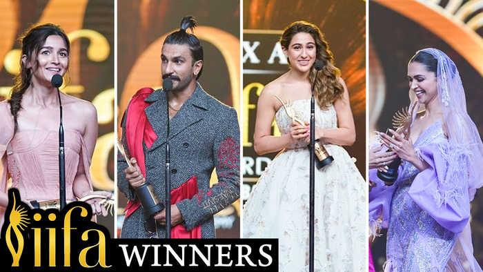 IIFA Awards 2019 FULL Winners List Out | Ranveer Singh, Alia Bhatt, Ranbir Kapoor, Deepika Padukone