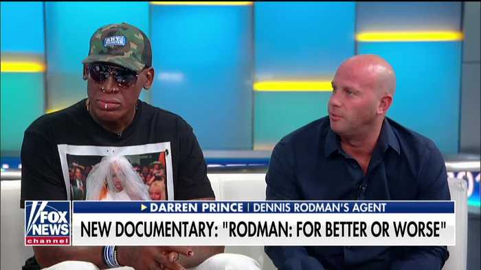 Dennis Rodman talks changing the world on Fox & Friends