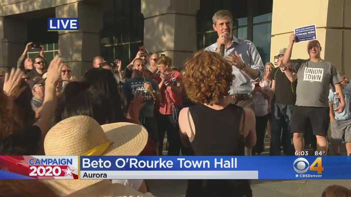 Beto O'Rourke Holds Town Hall Meeting In Aurora