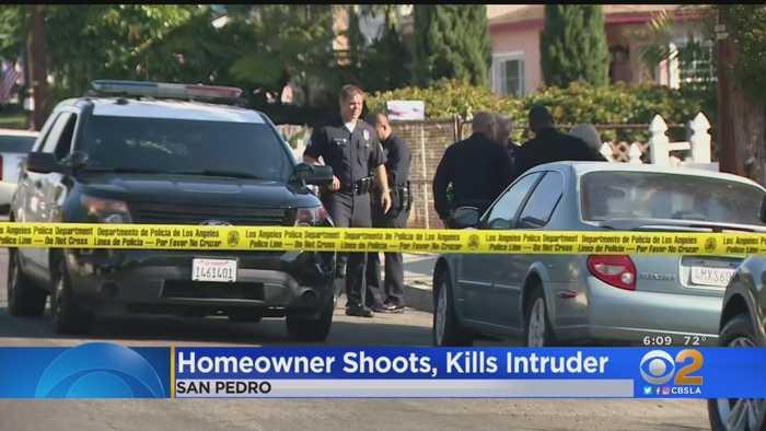 San Pedro Homeowner Fatally Shoots Alleged Intruder