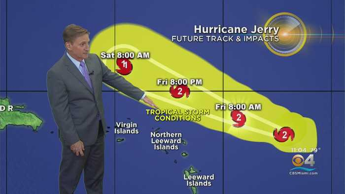 Tracking Hurricane Jerry