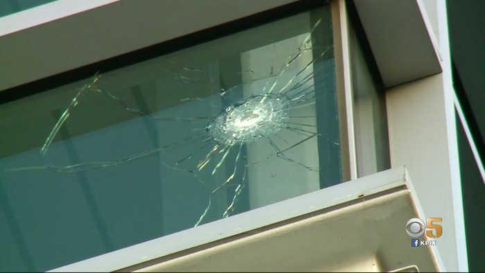 Library, Parking Garage on San Jose State University Campus Damaged by Gunfire
