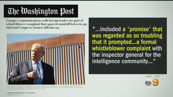 The Whistleblower: Democrats Accuse Trump Of A Potential Cover-Up, Republicans Say Not So Fast