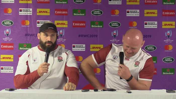 Rugby World Cup: England prop Joe Marler shows off his Japanese language skills