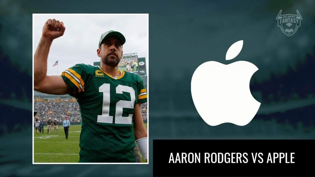 Stock Versus Stat: Green Bay Packer Quarterback Aaron Rodgers Versus Apple