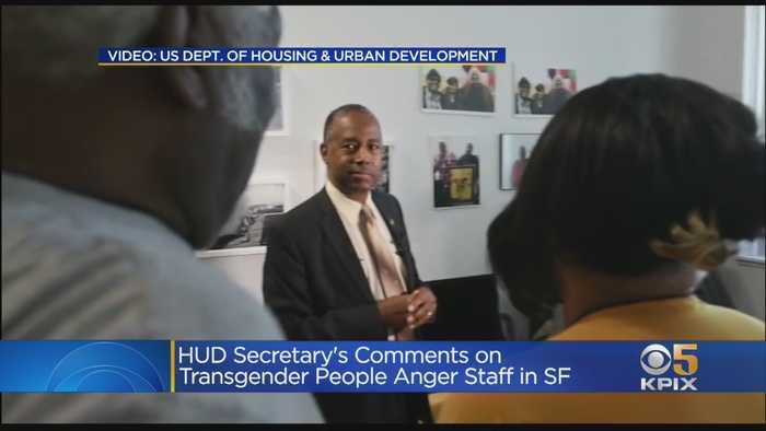 HUD Secretary Reportedly Slams Transgender People During San Francisco Visit