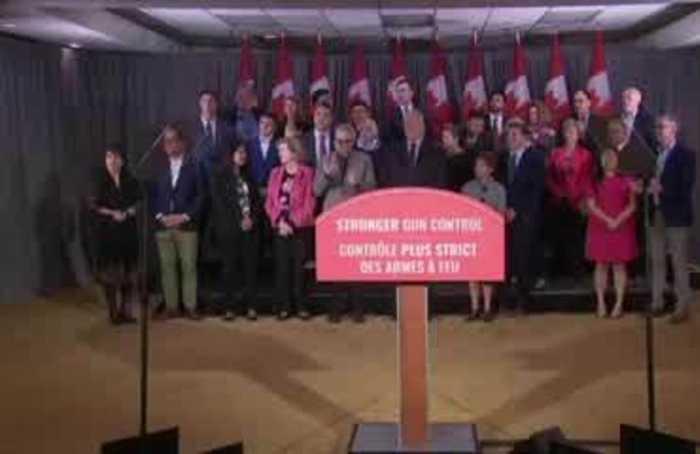 Canada's Trudeau pledges assault rifle ban, addresses 'brownface'