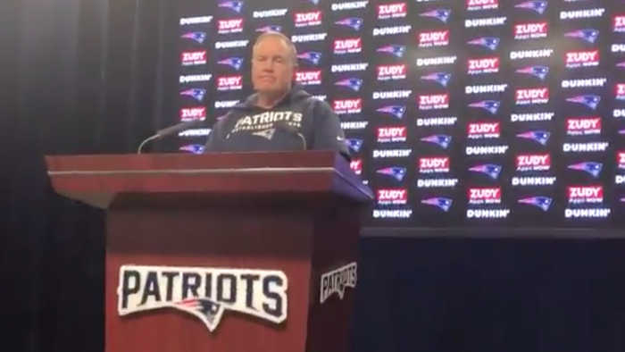 Patriots Coach Bill Belichick STORMS OUT Of Press Conference Over Antonio Brown Questions!
