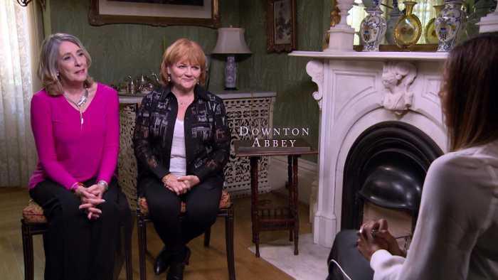 Phyllis Logan, Lesley Nicol Talk 'Downton Abbey' Movie