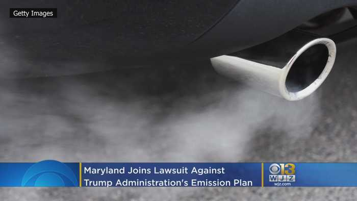 Maryland Joins Lawsuit Against Trump Administration's Plan To End Stricter Emissions Standards