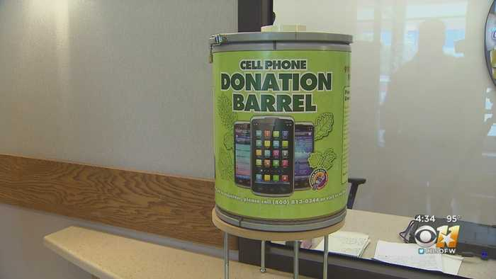 McKinney Police Collecting Old Cell Phones To Help Domestic Violence Victims