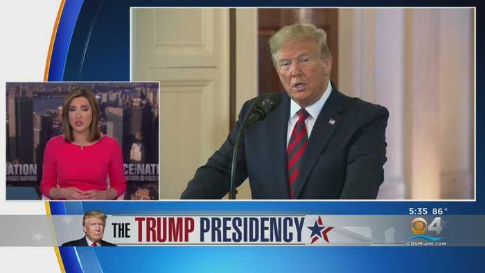 'Face The Nation' Host Discusses Details Of Whistleblower's Complaint About Trump