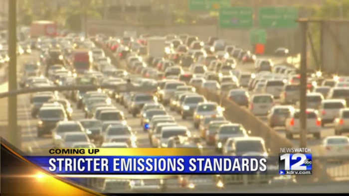 Trump revoking emission standards