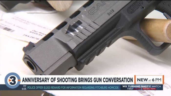 Anniversary of Middleton shooting brings gun violence conversation