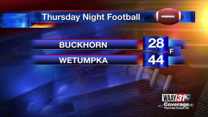 Wetumpka beats Buckhorn