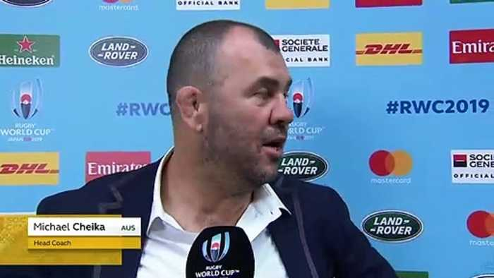 Michael Cheika post-match interview