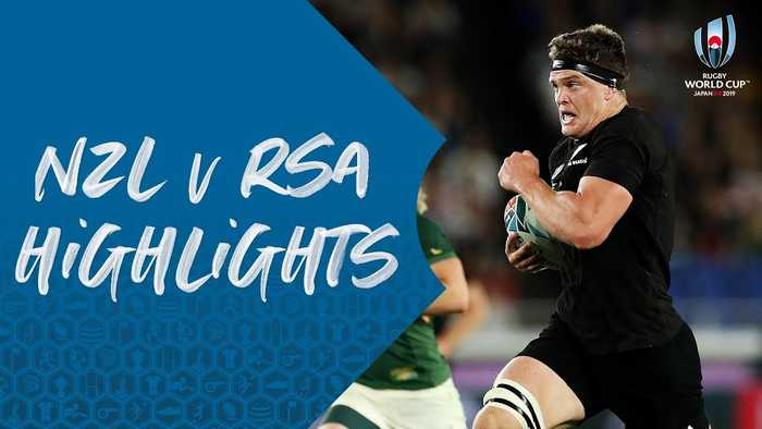 HIGHLIGHTS : New Zealand v South Africa - Rugby World Cup 2019