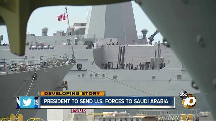 President to send U.S. forces to Saudi Arabia