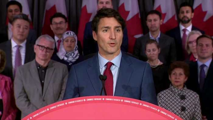 Canada's Trudeau pledges assault rifle ban, addresses 'brownface'