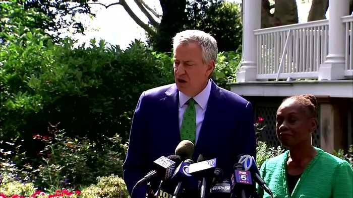 'I wish I had more time': De Blasio ends 2020 bid